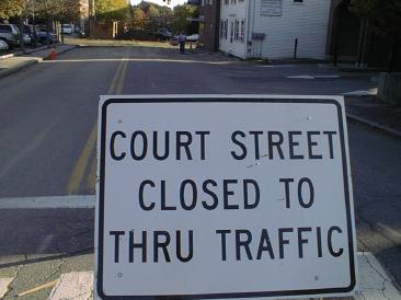 Court Street Closed