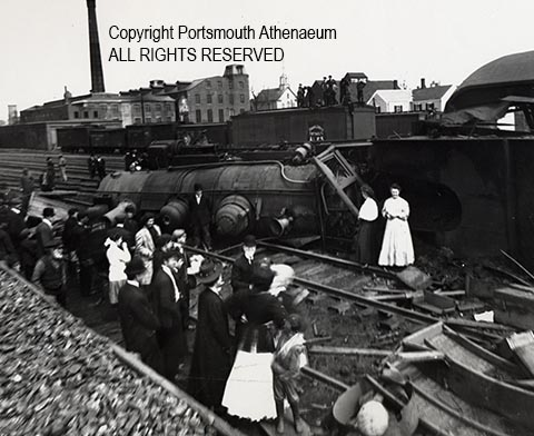 Portsmouth Train Wreck of 1909