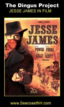 Jesse James 1939 file with Tyrone Power  in the Dingus Proejct