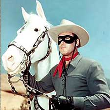 Before he was the Lone Ranger, Clayton Moore played Jesse James