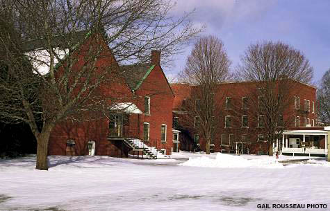 Former Orphanage and Sisters of the Holy Cross buildings (c) Gail Rousseau on SeacoastNH.com