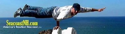 Man nalancing on one arm / SeacoastNH.com