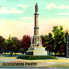 Solders & Sailors Memorial, GOodwin Park, Portsmouth, NH