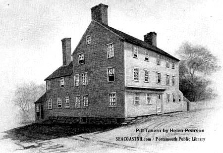 William PItt Tavern by Helen Pearson/ Portsmouth Public LIbrary