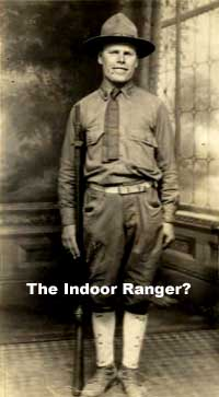 The Great Indoors -- An indoor historic house park ranger?