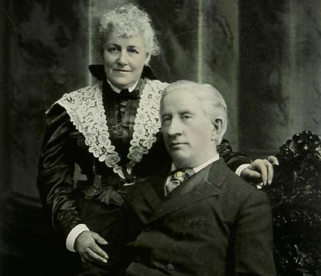 Clara and Henry Clay Barnabee