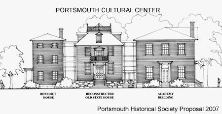 Cultural Center design 2007 proposal from Portsmouth Historical Society / SeacoastNH.com