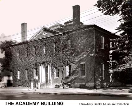 Former Portsmouth Academy and Public LIbrary now prosed as Portsmouth Cultural Center / Strawbery Banke Photo on SeacoastNH.com