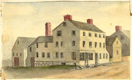 William PItt Tavern by Sarah Haven Foster/ Portsmouth Public Library
