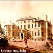 Gov House, Halifax/ Canadaian National Archives