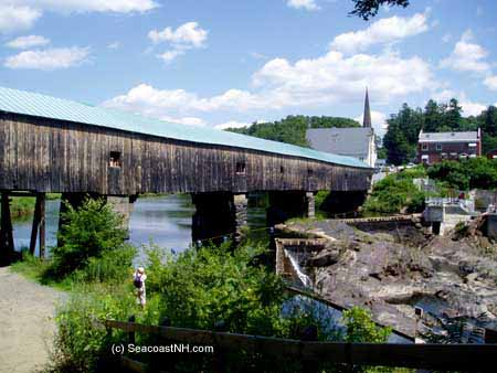Covered Bridge in Bath, NH / J. Dennis Robinson (c) SeacoastNH.com