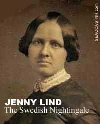 Swedish Nightingale Jenny Lind / SeacoastNH.com