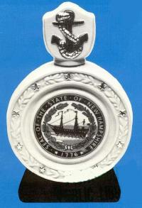 NH Seal Liquor Decanter