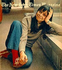 Joyce Maynard in New York Times at age 18 in 1973