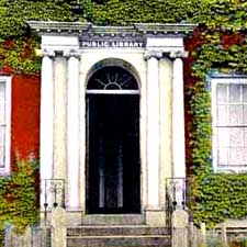 Former Portsmouth Public Library Doorway / SeacoastNH.com