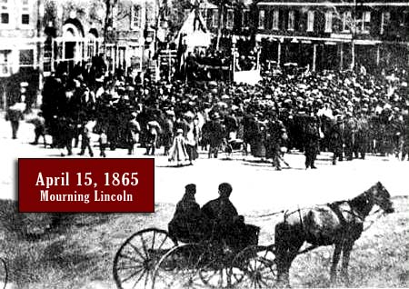 Mourning Lincoln in Portsmouth, NH 1865 / Strawbery Banke Museum Archives