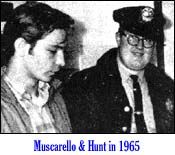 Muscarello and Hunt in 1965 / Manchester Union Leader