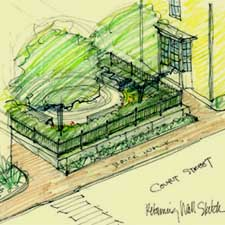 African Burial Ground Design Proposal/ City of Portsmouth