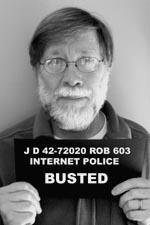 Author Robinson busted for spreading Internet rumors / SeacoastNH.com