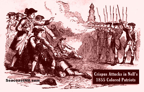 Crispus Attucks in Boston Massacre