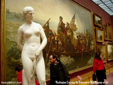 Washington Crossing the Delaware at the Met / Photo by J. Dennis Robinson, SeacoastNH.com