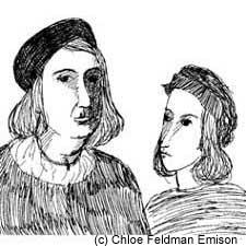 Giovanni Santi and Raphael Sanzio by Chloe Feldman Emison