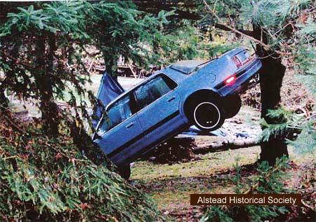 Alstead Historical Society Flood Damage