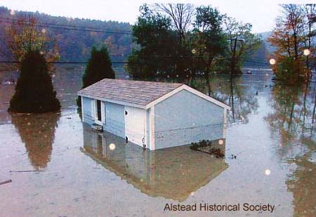October 2005 Flood Damage in NH/ Alstead Historical Society