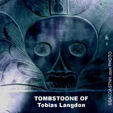 Tobias Langdon Tombstone, Portsmouth, NH / SeacoastNH.com