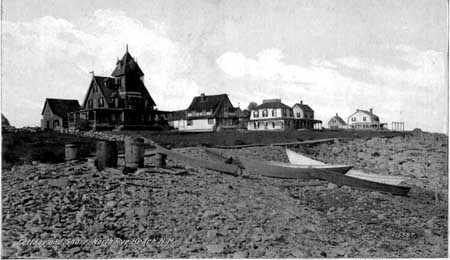 Rye Harbor, circa, 1939, before the jetties were built. (Douglas Zechel)