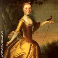 Polly Warner by J. Blackburn 1761 at the Warner House in Portsmouth, NH / SeacoastNH.com