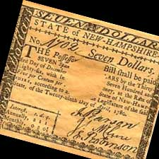 Early NH currency