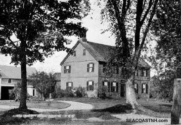 Photo of Weeks house used in WW2 era tourist guide / SeacoastNH.com