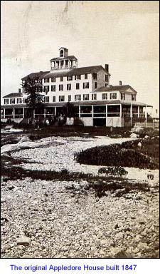 Appledore Hotel on former Hog Island / SeacoastNH.com