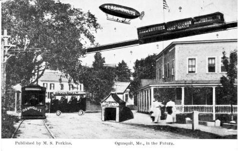 Ogunquit in the Future postcard , 1907
