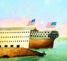 Launch of the Washington in 1814