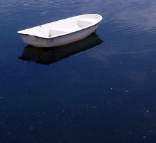 boat in Rye Harbor