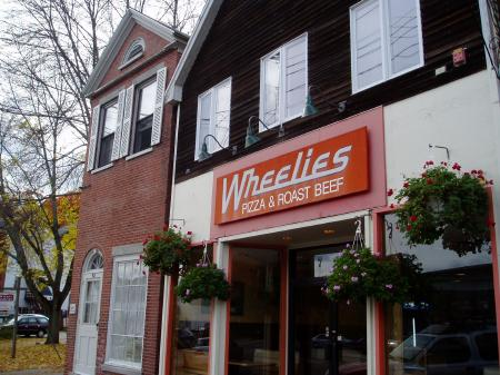 Wheelies Pizza in Newmarket, NH/ SeacoastNH.com