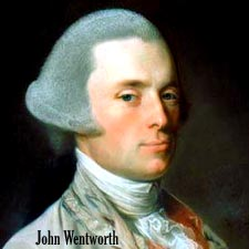 Gov Wentworth by Copley