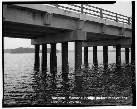 Scammell Memorial Bridge / Lib Congress