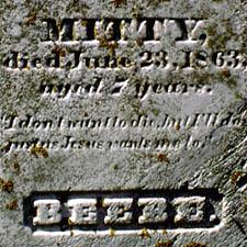 Beebe Grave Inscription
