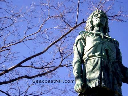 Passaconaway Statue