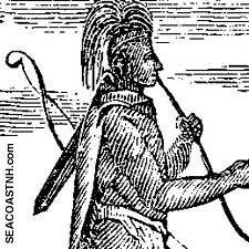 Early image of Native American / SeacoastNH.com
