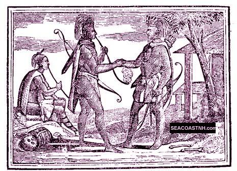 Early colonists at peace with local native americans/ SeacoastNH.com