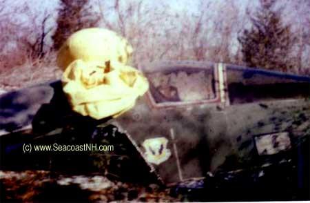 Rare Photos of USAF Bomber Crash