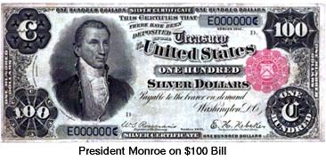 MOnroe $100
