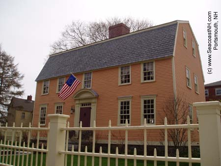 Pracle House in Portsmouth, NH (c) SeacoastNH.com