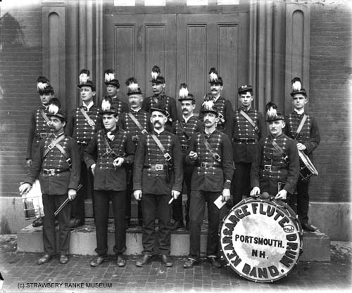 Kearsage Fife and Drum Band / Strawbery Banke Museum Archive