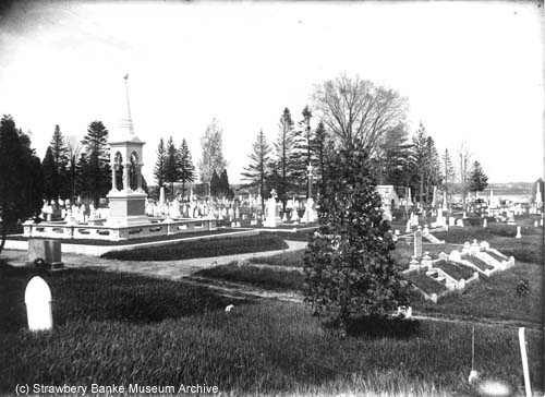 Frank JOnes Tomb, Portsmouth, NH (c) Strawbery Banke ARchive