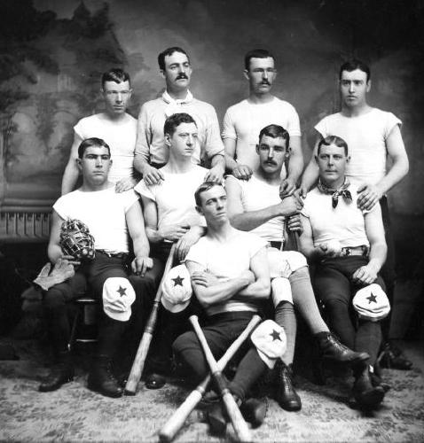 Portsmouth Red Stockings Baseball Team